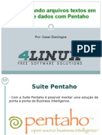 Slides Podcast Pentaho