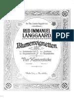 IMSLP33365 PMLP75435 Langgaard Blumenvignetten