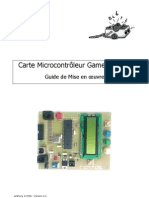 Carte Gamel Trophy Guide de Mise en Oeuvre v3