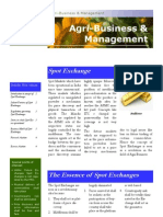 Agri-Business & Management