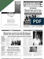 Versión impresa del periódico El mexiquense 4 diciembre 2013