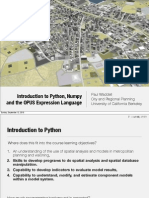 Python Numpy Expressions