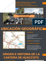 Tecnologia Del Concreto-cantera de Huacoto
