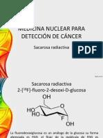 MEDICINA NUCLEAR ÁRA DETECCIÓN DE CÁNCER