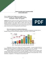 Pozitionarea Pe Piata Auto a Producatorului DACIA-RENAULT