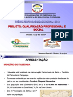 APRESENTAÇÃO CENTRO MUNICIPAL DE QUALIFICAÇAO PROFISSIONAL FINAL