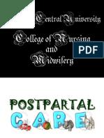 44705507 Postpartal Care
