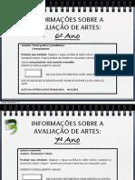 ConteúdosArtes-PROVAS FINAIS