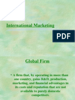 Lecture International Marketing