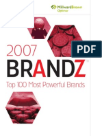 100 Most Powerful Brands