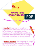 Lecture Marketing Segmentation