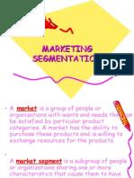 Lecture Marketing Segmentation