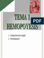 Clase 3 y 4 Fisiologia de La Sangre