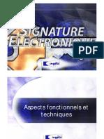 Signature Electronique
