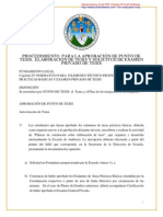 Procedimientos Para Elaboracian de Planes de Investigacian 2011 Ew