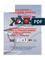 Resoluciones XXX Congreso PCU PDF