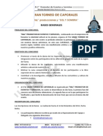 Bases Generales 1er Torneo de Caporales
