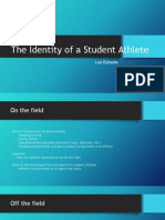 the identity of a student athlete