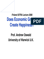 Does Econ Growt Make People Happier