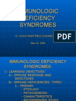 Immunologic Deficiency Syndromes