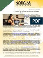 Los resultados de las Pruebas PISA reafirman que tenemos mucho por hacer