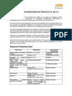 Curriculum Premex 2013