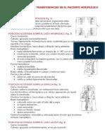 Cambios posturales y transferencias paciente hemipléjico