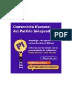 Convención PI