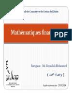 Cours complet math financière