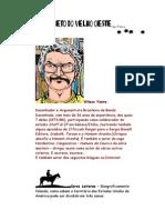 Alfabeto do Velho Oeste - Letra A - Super Ilustrado - Wilson Vieira – Caricatura