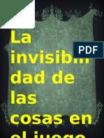 Las Meninas La Invisibilidad de Las Cosas El Jueo de Las Semejanzas