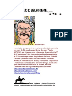 Alfabeto do Velho Oeste - Letra D - Super Ilustrado - Wilson Vieira – Caricatura