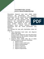 Diagnosis Pada Anak Format Buku