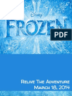 Disney's Frozen DVD/Blu-Ray Integrated Marketing Campaign Deck