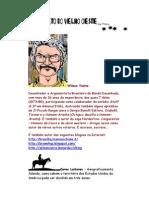 Alfabeto do Velho Oeste - Letra S - Super Ilustrado - Wilson Vieira – Caricatura