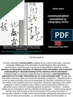 StefanArteni_CommunicationExemplifiedByCalligraphyWorks