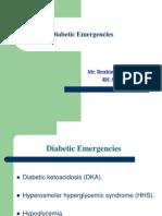Diabetic Emergencies