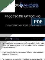 7-Sistema - Proceso de Patrocinio - Conociendo Nuevas Personas