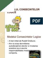 MODELUL CONSECINTELOR LOGICE