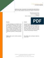 Caracteristicas de Paciente Con Disfonia Psicogenica