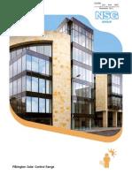 Pilkington Suncool Brochure