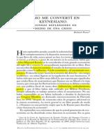 Reflexiones Sobre Keynes