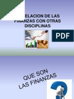 La Relacion de Las Finanzas Con Otras Disciplinas