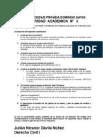 ACTIVIDAD ACADEMICA 5