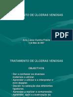 TRATAMENTO DE ÚLCERAS VENOSAS