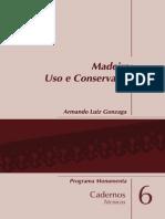 Madeira - Uso e Conservação, De Armando Luiz Gonzag