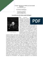 """""""El Servicio de Trabajo en el IIIº Reich"""", por Martin Heidegger. Traducción y estudio preliminar de Nicolás González Varela"""