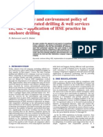 Health, safety and environment policy of
