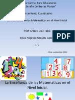 Matematicas en El Nivel Inicial