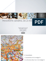 Panorama general de la investigación